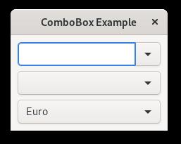 14  ComboBox — Python GTK+ 3 Tutorial 3 4 documentation